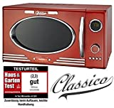 Adexi Melissa 163–30088/900 W/25 l/Design micro-ondes avec grill/four micro-ondes Rouge