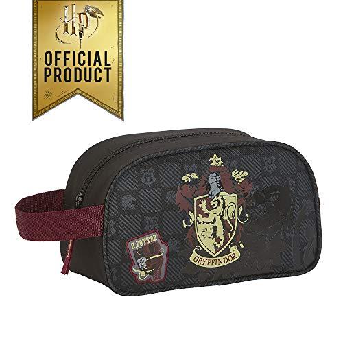 51pVq8T0hpL - Safta - Neceser de Harry Potter Oficial Gryffindor con asa y Cremallera