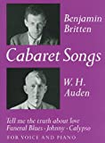 Cabaret Songs: for Voice and Piano