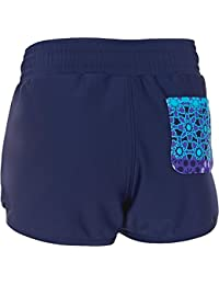 Zoggs Bañador para niñas Tribal Mosaic–Bañador para hombre, niña, Tribal Mosaic Swim, Navy/Multi-Colour, Size 27