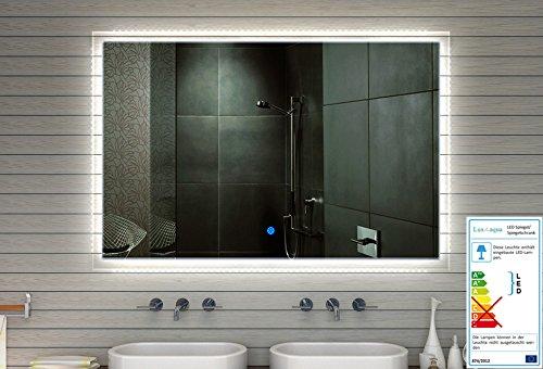 Cuarto-de-bao-espejo-espejo-de-pared-LED-con-710-lmenes-Touch-interruptor-luz-tono-frocaliente-ajustable-en-los-grEn-60-180-cm-Ancho-ERHltlich