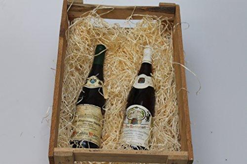 Holzwolle naturfarben, Füllmaterial für Pakete, Versand, Kartons, Präsentkörbe, Osternestmaterial - 1000 g Beutel (1 kg)