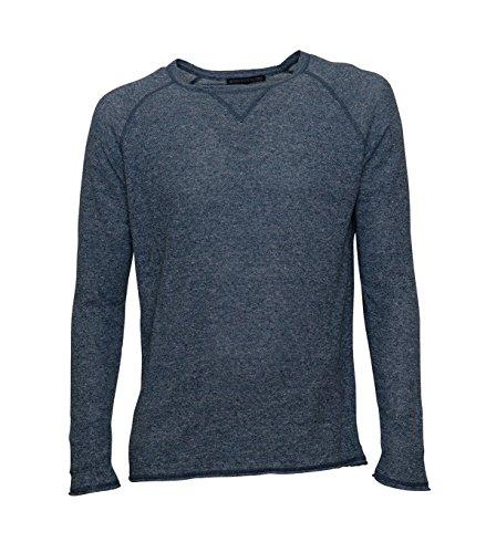 drykorn pullover herren Drykorn Herren Pullover Craik in Blau-Meliert 36 Blue M