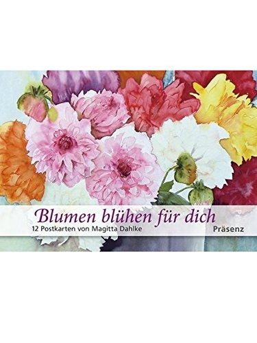 Blumen blühen für Dich - 12 Postkarten