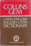 Latin-English, English-Latin Dictionary (Gem Dictionaries)