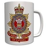 Royal Regiment of Canada Kanada Army Armee Infantry Infanterie Wappen Abzeichen Emblem - Tasse Becher Kaffee #6534