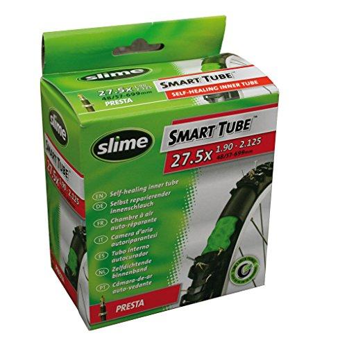 Slime - Camera d'aria autosigillante, con valvola Presta 27.5 x 1.90-2.125