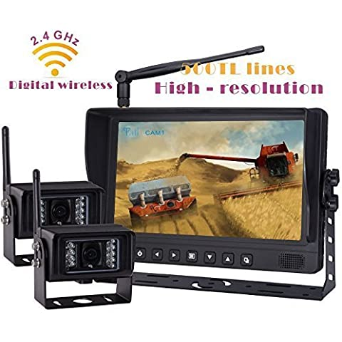 Digitale Wireless retromarcia Kit telecamera retromarcia sistema, 9
