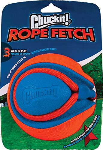 Chuckit! 32220 Hundespielzeug Seil-Apportierspielzeug