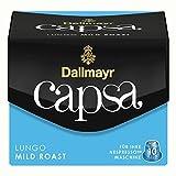 Dallmayr Capsa Lungo Mild Roast, Nespresso Kapsel, Kaffeekapsel, Röstkaffee, Kaffee, 50 Kapseln