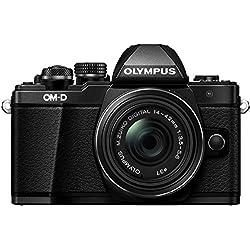 Olympus E-M10 Mark II Appareil photo numérique compact avec Objectif 14-42 II Noir
