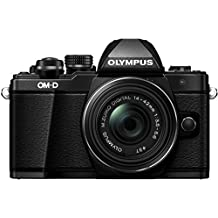 Olympus E-M10 Mark II Kit con Obiettivo M.Zuiko Digital 14‑42 mm 1:3.5‑5.6 II R, Nero