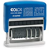 COLOP S120/WD with Date- Rubber Stamp/Self Inking Stamp (Multi Phrase in-Built)