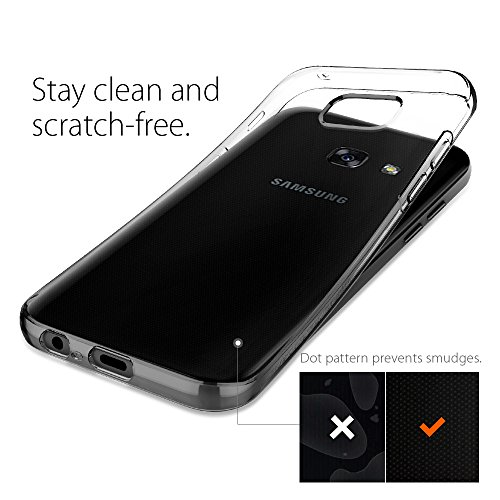 the best attitude 52426 cd66a Samsung Galaxy A5 2017 Case, Spigen® [Liquid Crystal] Ultra-Thin [Crystal  Clear] Premium TPU silicone / Transparent / Exact Fit / NO Bulkiness Soft  ...