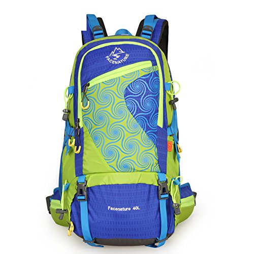 Paar Outdoor-Rucksack/Bergsteigen Tasche/ Wandern Pack Blau