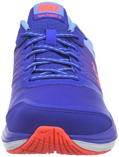 Nike Wmns Dual Fusion X, Chaussures Femme Bleu