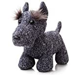 Aurora World Fabbies Scottie Terrier Plush Toy (Small, Blue/Grey/White)