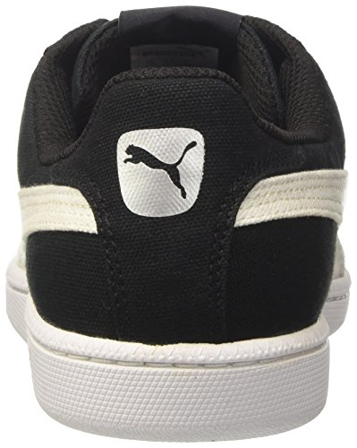 Puma Herren Smash CV Sneakers Schwarz