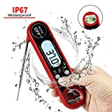 Meat Thermometer, Instant Read Digital Thermometer Electronic Food Thermometer with Probe for Kitchen