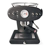 Francis Francis for Illy X1 Ground Coffee Machine, Black by Francis Francis