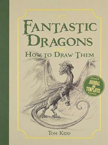 Fantastic Dragons and How to Draw Them por Tom Kidd