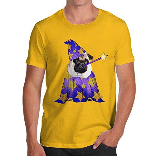 TWISTED ENVY Herren T-Shirt Gr. X-Large, Gelb - Gelb