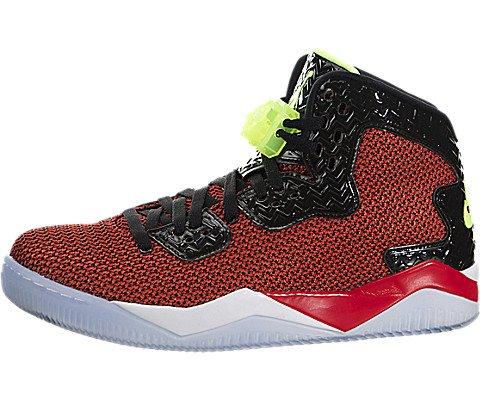 Nike Herren Air Jordan Spike Forty Turnschuhe, Rot/Grün/Schwarz/Weiß (Unvrsty Rot/Ghst Grn-Blk-White-), 45 EU (Und Jordans Weiße Rote)