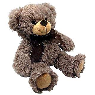 Aubry Gaspard Dark Grey Acrylic Teddy Bear
