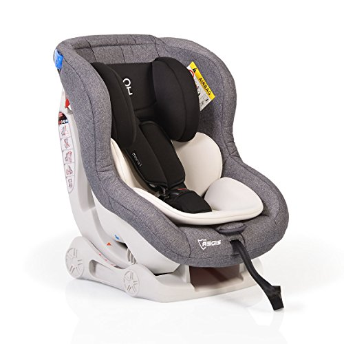 Kindersitz Aegis Gruppe 0/I (0 - 18 kg), Rückenlehne verstellbar, LM309 (grau beige)