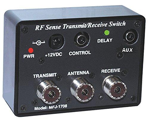 HAMRADIOSHOP MFJ-1708SDR Switch Box Automatisch zwischen RX und TX von Linea Send Mfj Antenna Switch