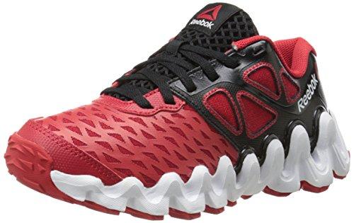 Reebok Zigtech Big N Tough Synthétique Chaussure de Course Blck-red-Wht