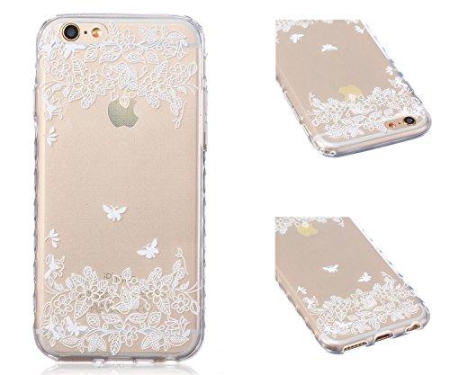 ZeWoo TPU Schutzhülle - BF031 / I Love Giraffe - für Apple iPhone 6 (4,7 Zoll) Silikon Hülle Case Cover BF049 / Fliegen in der Natur