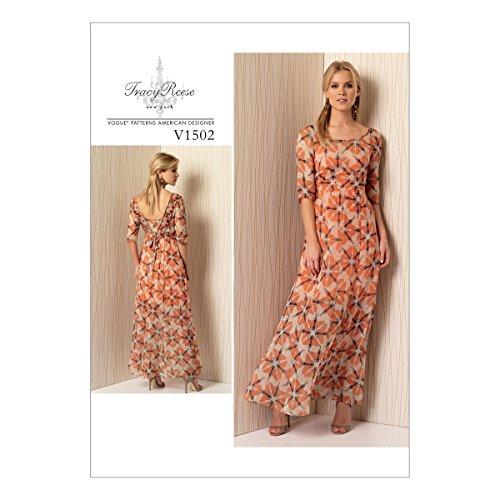 Vogue American Designer-muster (Vogue Mustern 1502A5Misses Kleid, Größe 6-14)