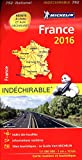 Carte France 2016 Indéchirable Michelin...