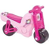 AVC - Correpasillos, moto, color rosa,  68x28x48 cm