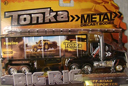 Tonka Metal Diecast Big Rig Off Road Transporter Semi Truck by Tonka