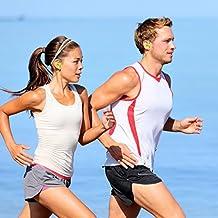granvela G18Wireless Schweiß-Sport in-Ear, Bluetooth 4.1earhook Kopfhörer mit CVC 6.0Geräuschunterdrückung für Running Fitness