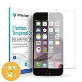 smartect [Avant et Arrière] Protection d'Écran en Verre Trempé pour iPhone 6 Plus / 6s Plus de Film Protecteur Ultra-Fin | Vitre Robuste avec 9H de Dureté et Revêtement Anti-Traces de Doigts
