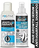 POSITIVE Root therapy + Hair fall Control Shampoo & Hair Growth Serum