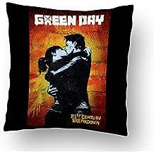 Bravado Green Day Kiss Cushion Cover