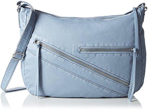s.Oliver (Bags) - 39.605.94.6106, Borse a Tracolla Donna Blu (Bleu (ash blue 5226))