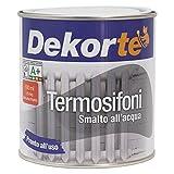 GDM-Termosifoni, Smalto All'Acqua Ideale Per Termosifoni, Dekortè, Colore: Bianco, 500 ml