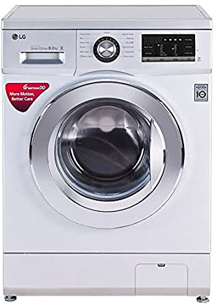 Lg 8 Kg Fully Automatic Front Loading Washing Machine Fh4g6tdnl42