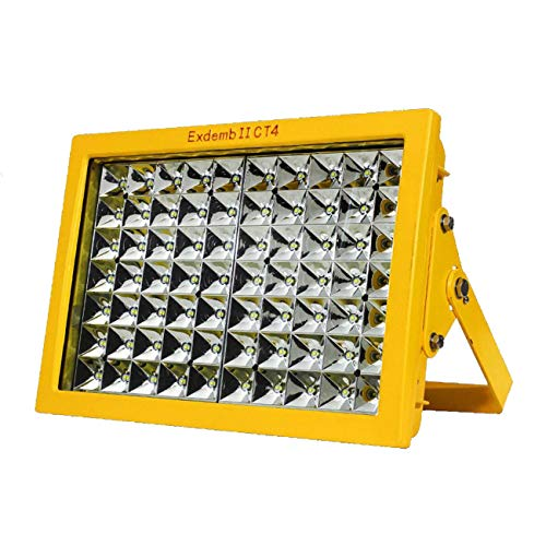 100w geführtes explosionssicheres Licht führte Flutlicht mit explosionssicherem mit IP66 wasserdicht, led explosion-proof light led flood light with explosion-proof with IP66 Waterproof, Exdemb II CT4 and WF2, used in Powder factory, gas station class 1 2 zone 1 2, Explosion Proof Surface Mount (100)