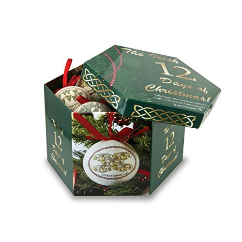 istmas Ornament Set & Keepsake Box by Solvar (Irish Christmas Ornamente)