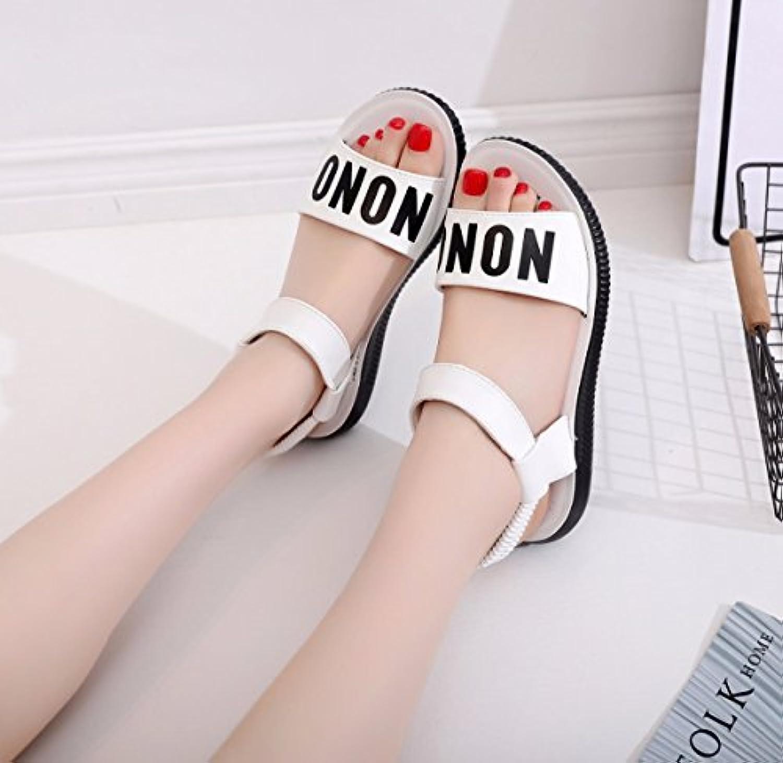 GTVERNH Zapatillas de Mujer/Verano/Suave Fondo Verano Dinero Mujer Zapatos Playa Zapatos Zapatos Zapatos Zapatos... -