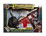 Super Pirat Requisiten Waffen Collection Gun Messer Haken Treasure Spielzeug mit Sound 9in 1Piraten Play Set