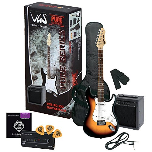 Gewa Music GmbH E-Guitar Vgs Rc-100 Guitar Pack 3-Tone Sunburst