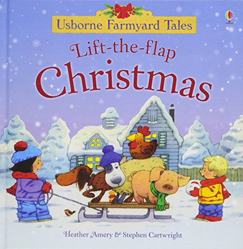 Farmyard Tales Lift the Flap Christmas Cover Image