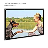 Beamer Leinwand HD 100